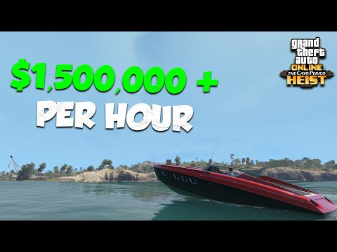 HOW TO MAKE $1,500,000 PER HOUR SOLO In GTA ONLINE   Cayo Perico - Rags To Riches Solo Bonus Episode