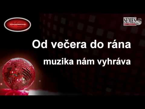 """Zmes ľudoviek """"Močila konope"""" (Karaoke)"""