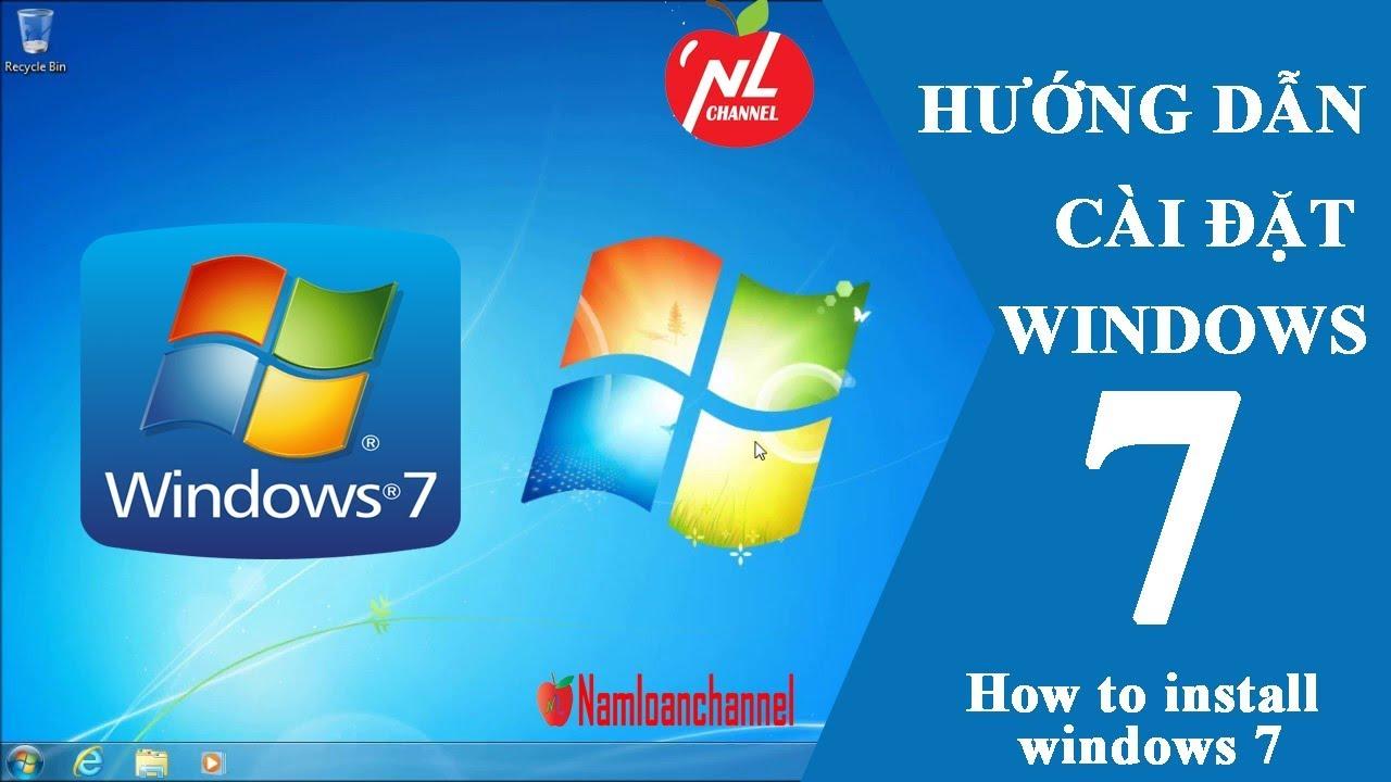 Hướng dẫn cài Windows 7 bằng USB không dùng phần mềm chuẩn UEFI, LEGACY (Install Windows 7 from USB)