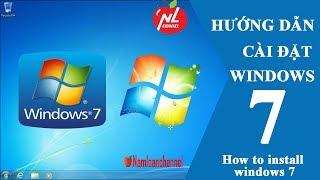 Tạo USB cài window và cài đặt hệ điều hành Windows 7 chuẩn UEFI, LEGACY (Install Windows 7 from USB)