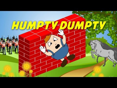 Humpty Dumpty (instrumental - lyrics video for karaoke)