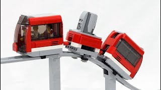 Motorized LEGO Roller Coaster Train