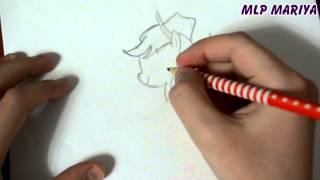 видео как рисовать пони