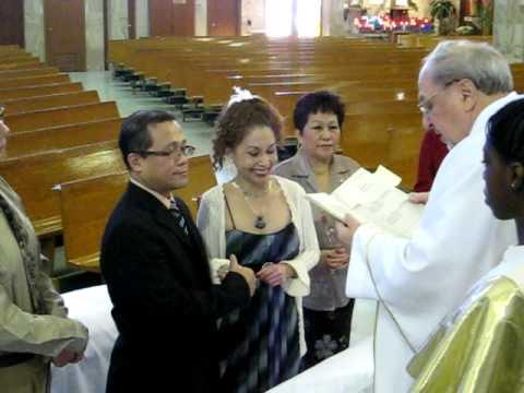 Aquilino Maria S Silver 25th Wedding Anniversary Ceremony