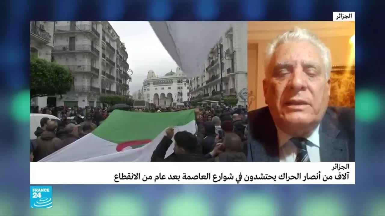 مصطفى بوشاشي: -السلطة في الجزائر لم تقدم أي شيء.. والحراك سيستمر وربما يتصاعد أكثر-