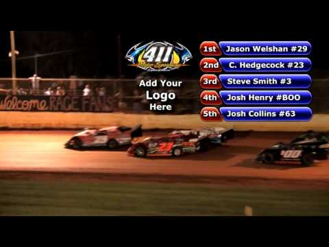 411 Motor Speedway | Limited Late Model #1 | Sept 7 , 2013