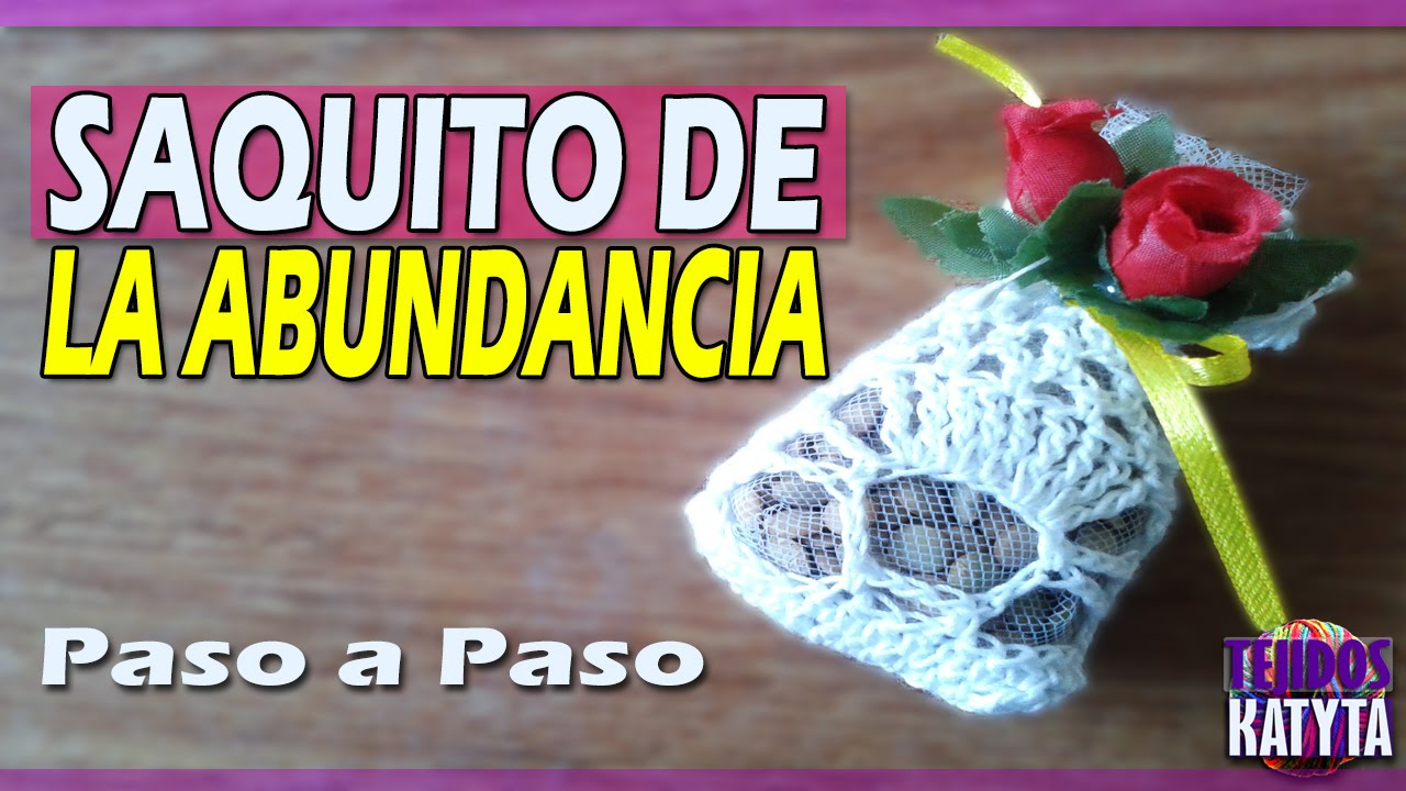 Recuerdo Boda | Matrimonio - Saquito de la Abundancia Tejido a ...