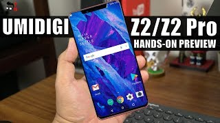 UMIDIGI Z2/Z2 Pro Hands-on Preview: Helio P60 Better Than Snapdragon 660?
