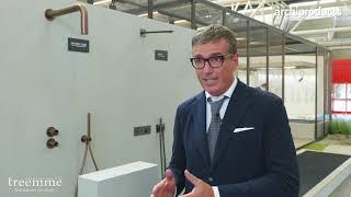 Cersaie 2021 | Rubinetterie 3M - Massimo Tommasi presenta le linee Water Tube, Q30 e T30