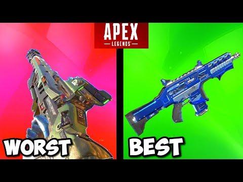 RANKING EVERY GUN IN APEX LEGENDS FROM WORST TO BEST!