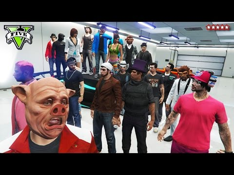 GTA 5 1,000,000 FRIEND Open Lobby Fun - Thank You Everyone For Your Support!!! - Landed It!