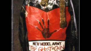 New Model Army - Ballad - Ghost of Cain - with lyrics