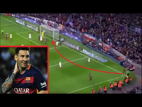Messi Almost Scored From The Corner vs Sevilla
