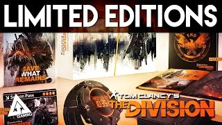 The Division - All Pre-Order, Limited & Collector