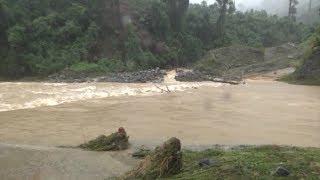 Tin lũ khẩn cấp trên các sông ở Quảng Nam, Quảng Ngãi, TT-Huế, Bình Định, Khánh Hòa và Kon Tum