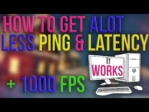 How to fix ping in games