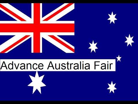 Australian National Anthem Advance Australia Fair with English Lyrics HQ