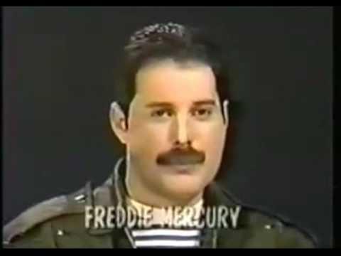 Freddie Mercury Interviewed By Lisa Robinson 1983 - YouTube