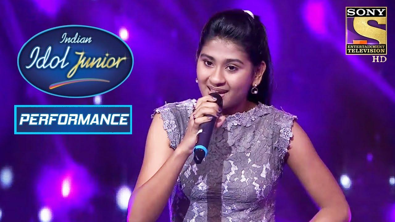 Nithyashree's Graceful Performance On 'Saathiya Tune Kya Kiya' | Indian Idol Junior 2