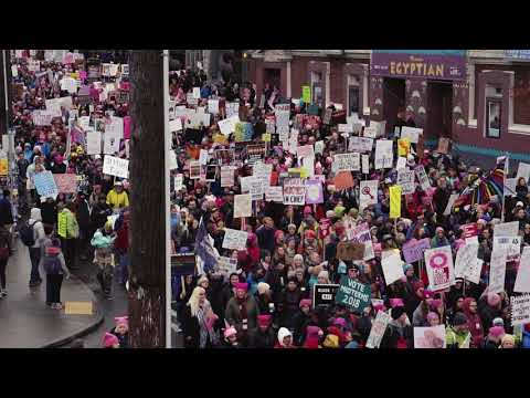 Seattle Womens March - 1/20/2018