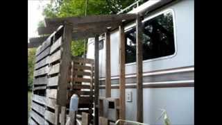 Building My Pallet Shed For Rv Heating
