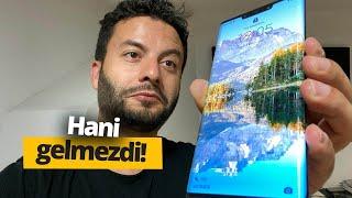 Trump'ın taktığı telefon Türkiye'de! Huawei Mate 30 Pro kutudan çıkıyor!