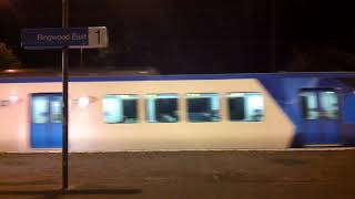a trip up the lilydale line at night metro trains melbourne