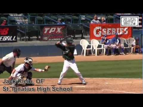 JACK KLEIN PROSPECT VIDEO, OF, ST. IGNATIUS HIGH SCHOOL
