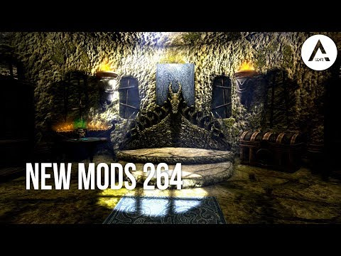 5 Brand New Console Mods 264 - Skyrim Special Edition (PS4/XB1/PC)