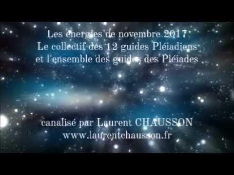 Les énergies de novembre 2017 par Les Pléiadiens