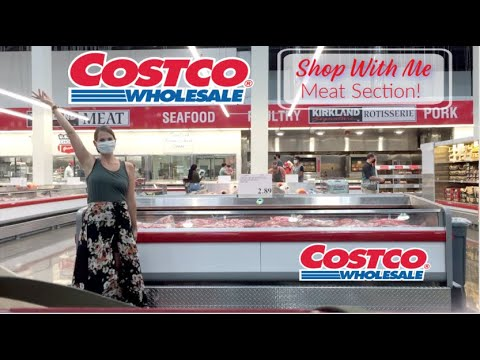 Costco Meat Section Shop With Me! Prices for Chicken, Beef, Fish, Fresh, Frozen & MORE! All The Meat