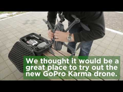 TechCrunch visits a drone park in South Korea