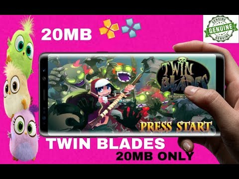 🥇 Twin blades 20mb highly compressed psp android 2019 offline game
