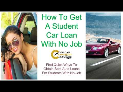 Auto Loans for College Students with No Job, How to Get Best Car Financing for Students