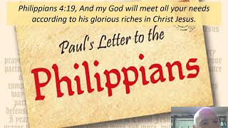 April 13, 2020 Philippians  4:19