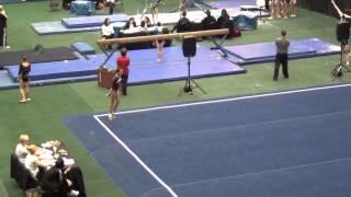 Level 7 Gymnastics Floor Champion 9.9 Tera Peters Orlando