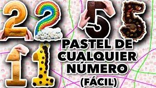 PASTEL DE CUALQUIER NÚMERO (FÁCIL). EXPECTATIVA/REALIDAD