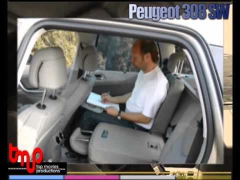 peugeot 308 sw elle en a dela place youtube. Black Bedroom Furniture Sets. Home Design Ideas