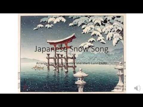 Japanese Snow Song (Yuki)