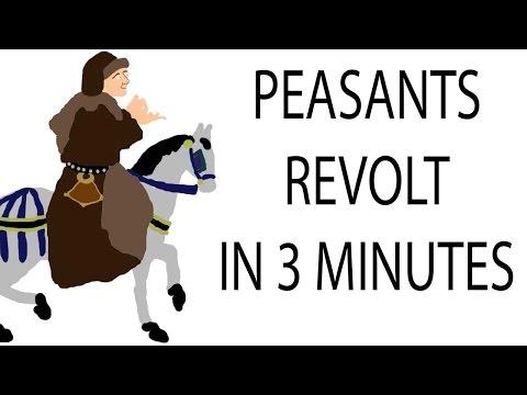 Peasants Revolt   3 Minute History