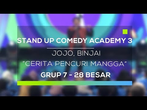 Download Youtube: Stand Up Comedy Academy 3 : Jojo, Binjai - Cerita Pencuri Mangga