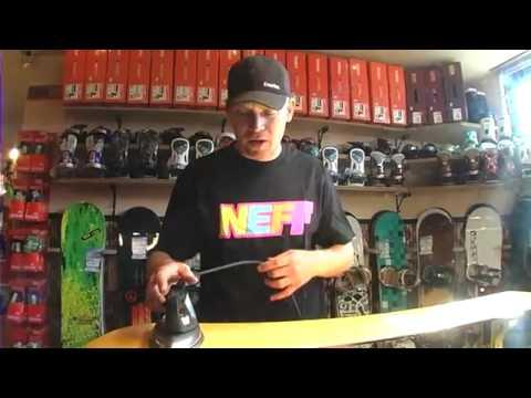 Hoe moet je een snowboard waxen en slijpen - iSNOWBOARD#30-2