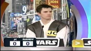 TRL Star Wars Trivia Contest with me competing (9/14/04) Total Request Live - Part 2