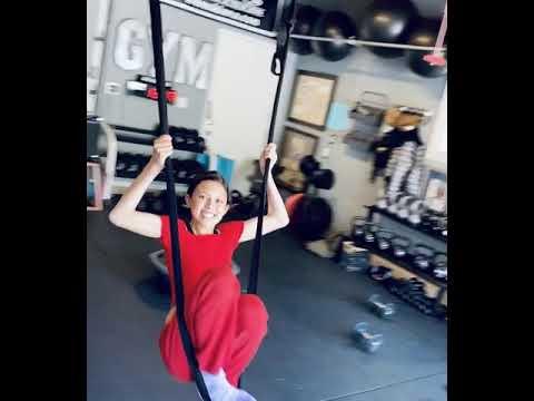 Kiana Tom | Fit Family Fun in the Gym