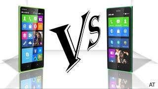 Nokia X2 Vs Nokia XL