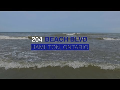 Lake views at 204 Beach Boulevard - Hamilton, Ontario