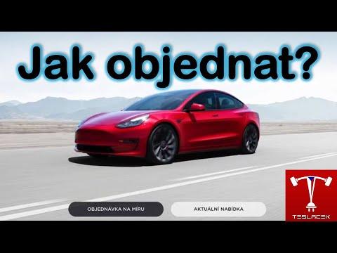 #229 Jak nakonfigurovat a objednat S 3 X Y Teslu 2021? | Teslacek