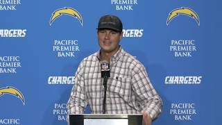 Philip Rivers Postgame Press Conference vs Broncos