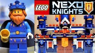 обзор Lego Nexo Knights замок Найтон