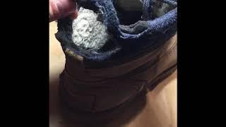 Ремонт обуви, замена задников ботинок